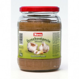 Česneková pasta 30% soli 720g