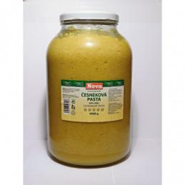 Česneková pasta 30% soli 4l