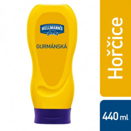 Hořčice gurmánska Hellmanz 440g