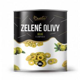 Olivy zelené - krájené, celé 3kg