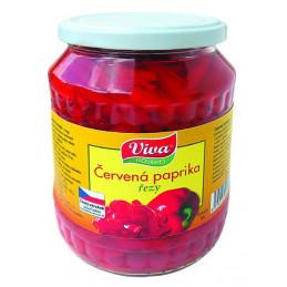 Paprika červená řezaná 720g