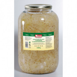 Zelí bílé sterilované 4l