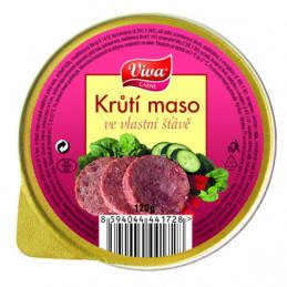 Krůtí maso ve vl.šťávě 125g