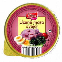 Uzené maso s vejci 125g
