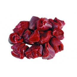 Divočák - maso na guláš - mražené vakuované 1kg