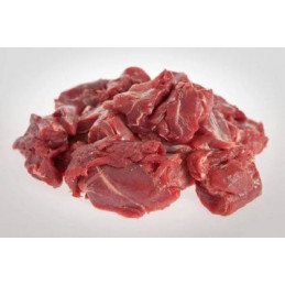 Srnčí maso na guláš - mražené vak. 1kg
