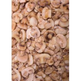 Žampiony plátky mražené 2,5kg