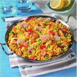 Paella-rýže se zeleninou a plody moře 1,5kg