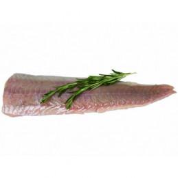 Treska tmavá exclu.filety bez kůže 10%glaz 180-250g balení 5kg