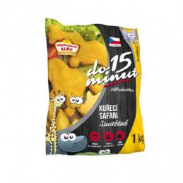 Kuřecí smažené Safari s vitamíny 40g mražené balení 3kg