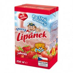 Lipánek mléko 250 ml jahoda