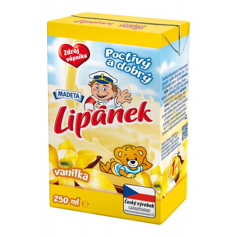Lipánek mléko 250 ml vanilka