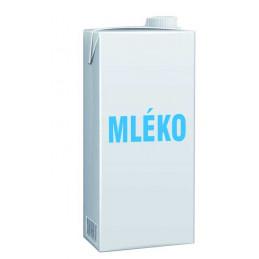 Mléko trvanlivé plnotučné 3,5%  1 L