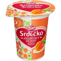 Srdíčko jogurt meruňka  125 g