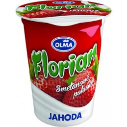 Florián smetanový jogurt 150 g jahoda