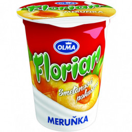 Florián smetanový jogurt 150 g meruňka