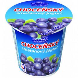 Choceňský smetanový jogurt borůvka 150 g