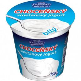 Choceňský smetanový jogurt bílý  150 g