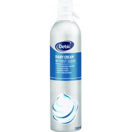 Debic šlehačka neslazená mléčná spray 35 % 700 ml