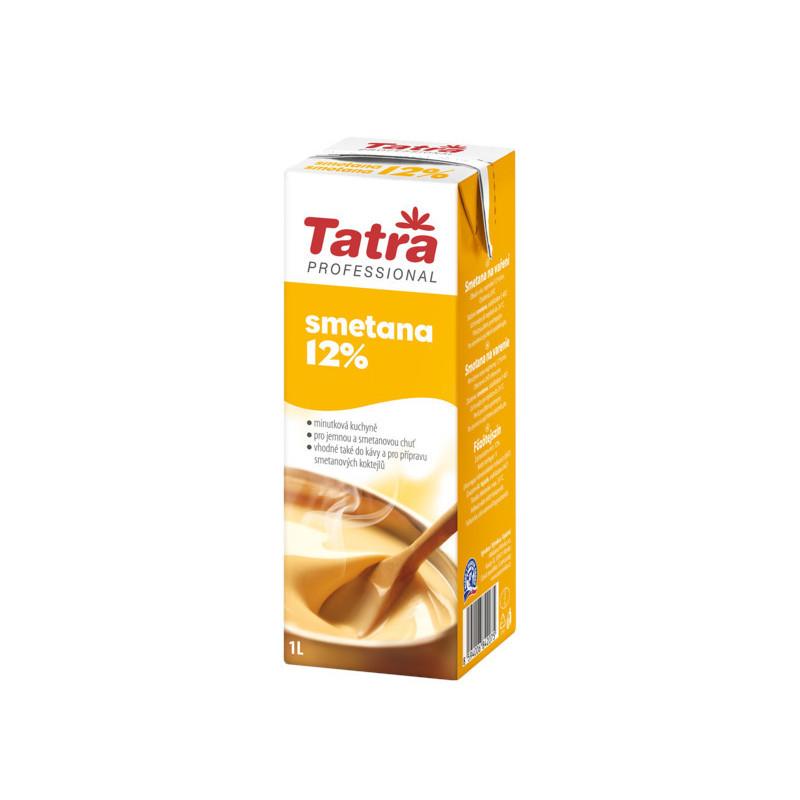 Smetana na vaření 12 % živočišná 1 L Tatra