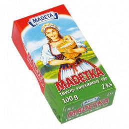 Madetka tavený smetanový sýr 45 % 2x50 g
