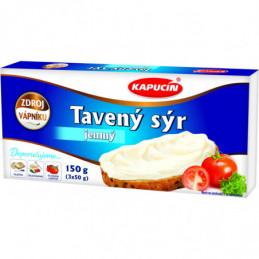 Kapucín tavený sýr 3x50 g bez příchutě