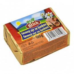 Brick tavený sýr 100 g se šunkou