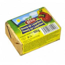 Brick tavený sýr 100 g s paprikou