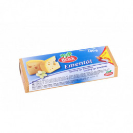 Brick tavený sýr bloček 100 g  s ementálem