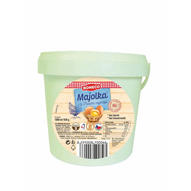 Majolka vaječná 1 kg PVC kbelík Boneco