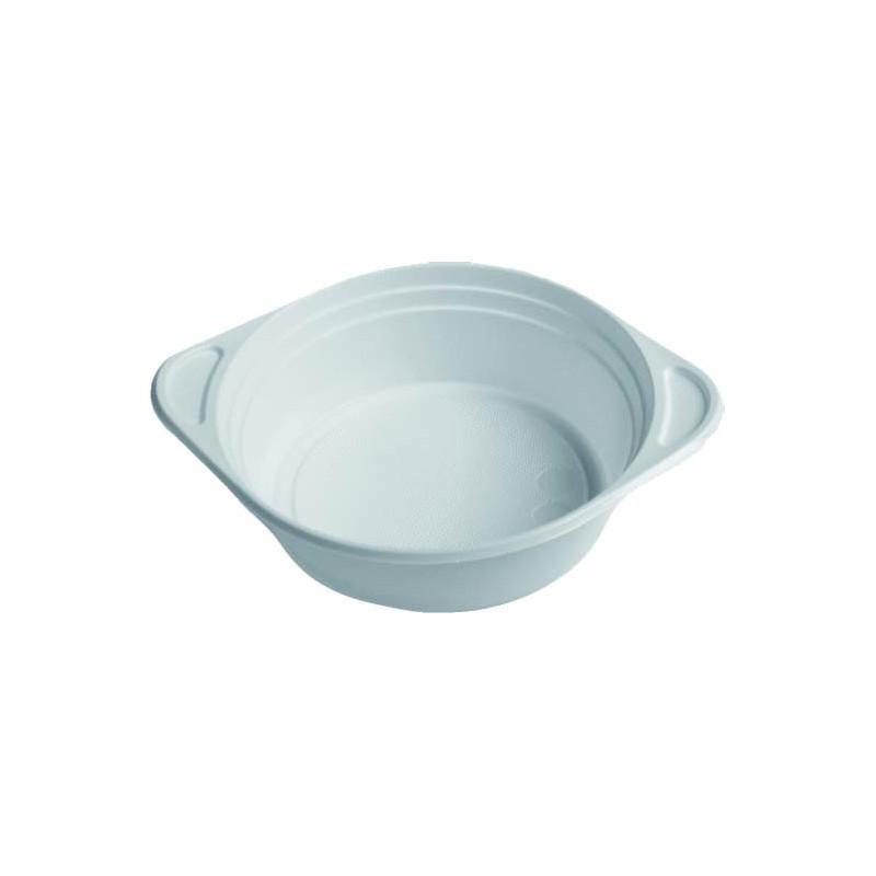 Talíř hluboký na polévku plast 0,5 L 100 ks