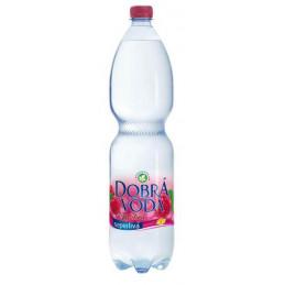 Dobrá voda malina neperlivá 1,5 L
