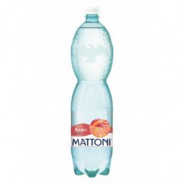 Mattoni broskev perlivá 1,5 L