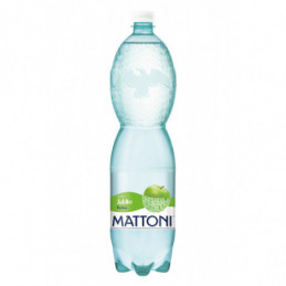 Mattoni zelené jablko perlivá 1,5 L
