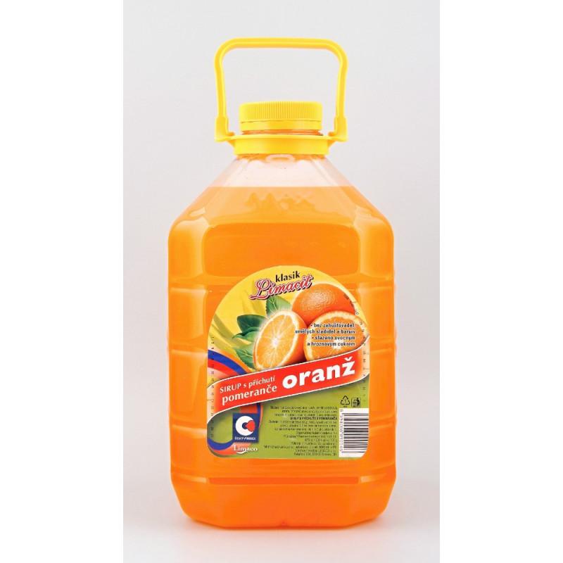 Sirup Limaco pomeranč 3 L