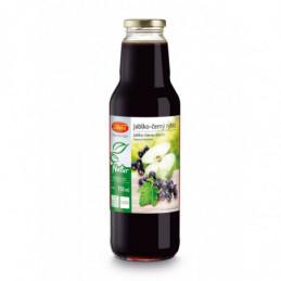 Nápojový koncentrát Vitana jablko-černý rybíz 750 ml