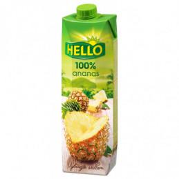 Džus Hello 100% ananas 1 L