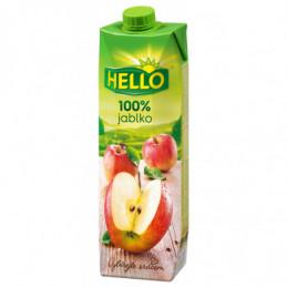 Džus Hello 100% jablko 1 L
