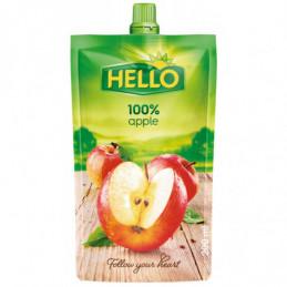Džus Hello 100% jablko 200 ml kapsička