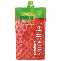 Smootie Hello jahoda 200 ml
