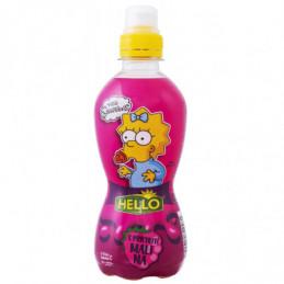 Ovocná šťáva Simpsons malina 330 ml
