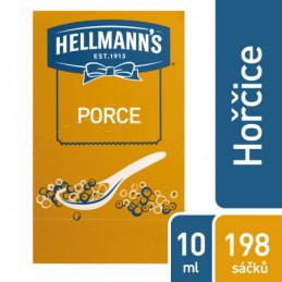 Hořčice plnotučná Hellmanz porce 198x 10ml