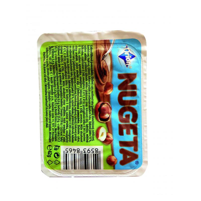 Nugeta lískooříšková porce 42g