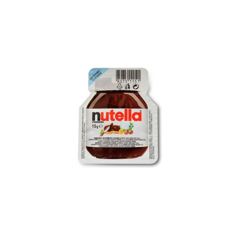 Nutella Ferrero originál 15g
